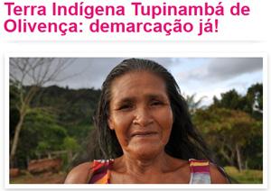 território indígena tupinambá de olivença - demarcação já!